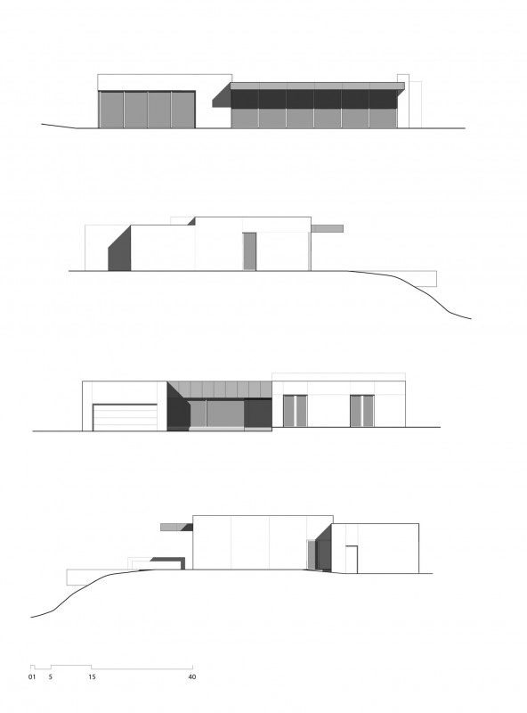 Blue Sail House in Los Angeles Plan 2