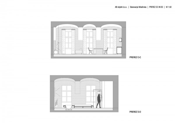 Footballer's Apartment in Slovenia Plan 2