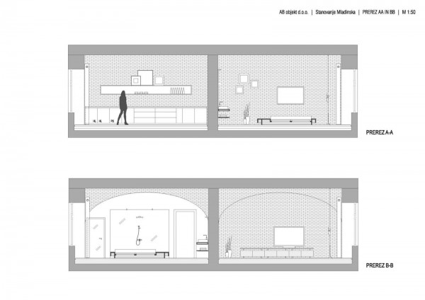 Footballer's Apartment in Slovenia Plan 3