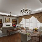 Living Dining Room Decorating Idea Photo 11