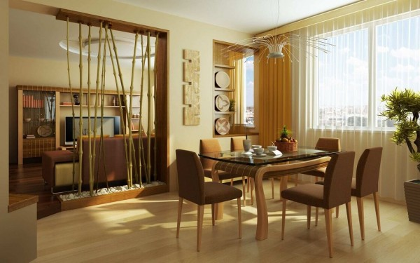 Living Dining Room Decorating Idea Photo 4