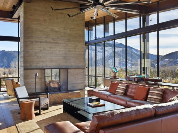 The Bigwood Residence Architecture in Idaho Mountains 11