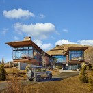 The Bigwood Residence Architecture in Idaho Mountains
