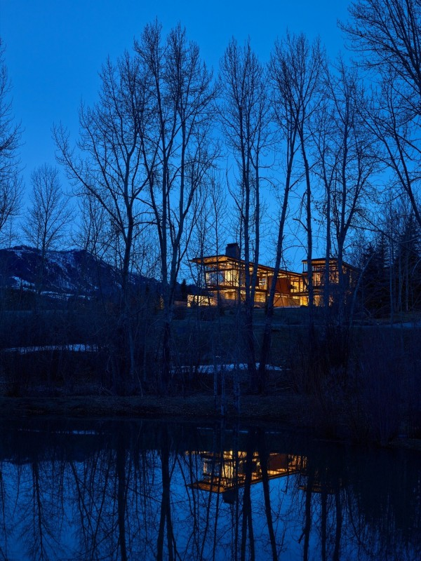 The Bigwood Residence Architecture in Idaho Mountains 3