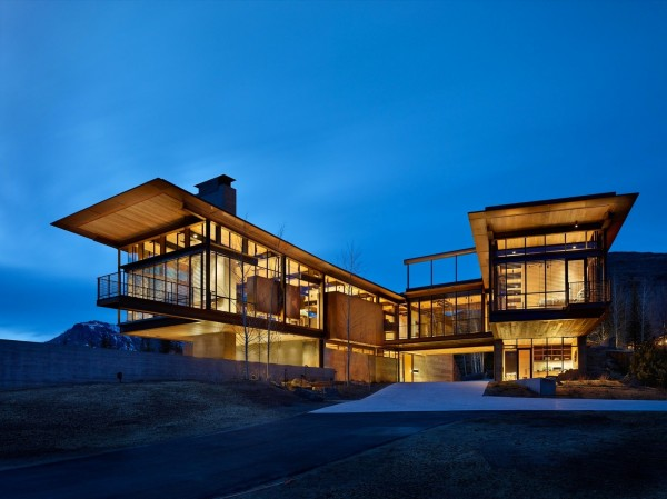 The Bigwood Residence Architecture in Idaho Mountains 4