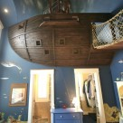 Pirate Ship Interior Design for 6-Year-Old Boy