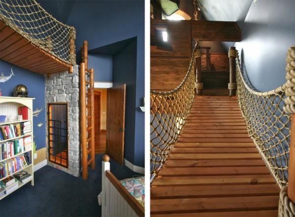 Pirate Ship Interior Design for 6-Year-Old Boy 2