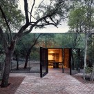 Mirror House in the Mexican Forest Thickets