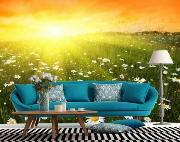 3D Wallpaper for Living Room 3