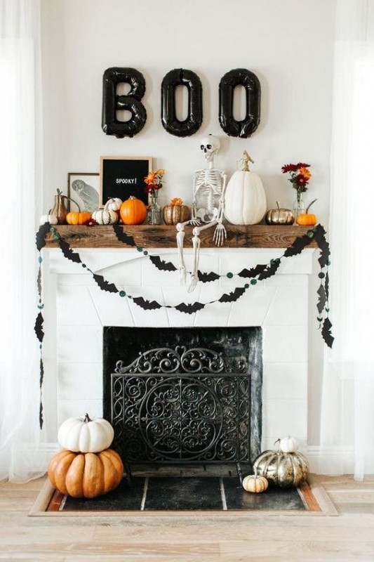 Stylish Halloween Decorating Idea 11