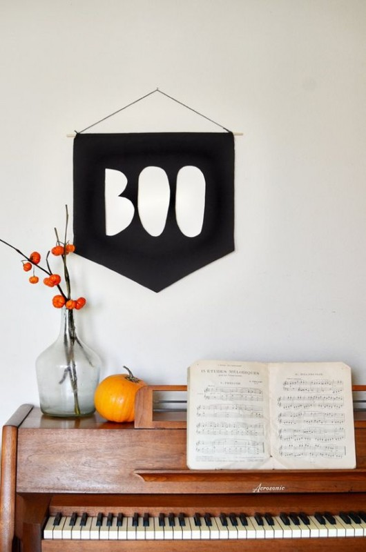 Stylish Halloween Decorating Idea 22