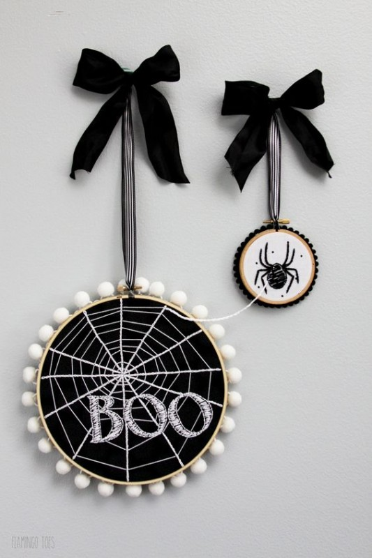 Stylish Halloween Decorating Idea 24