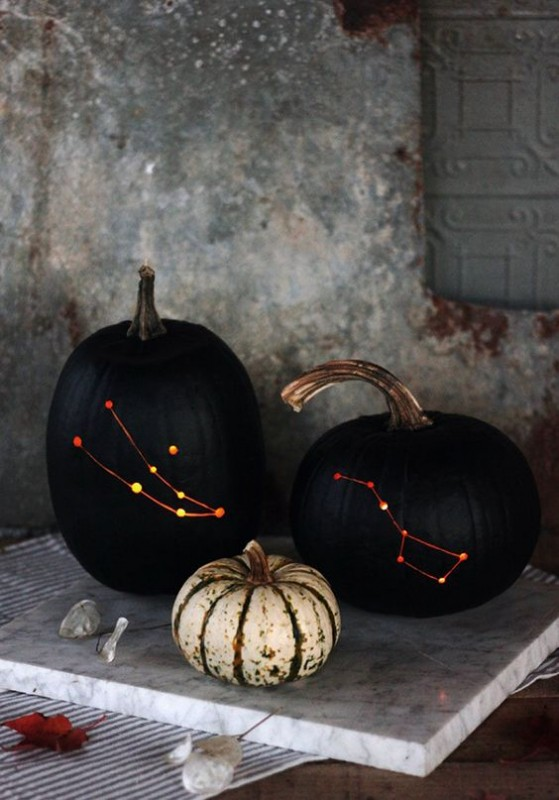 Stylish Halloween Decorating Idea