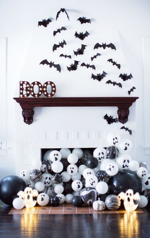 Stylish Halloween Decorating Idea 9