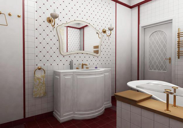 Vintage Bathroom Idea 12