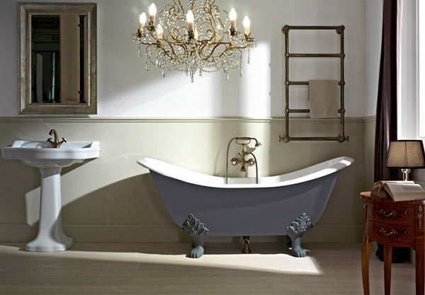 Vintage Bathroom Idea 13