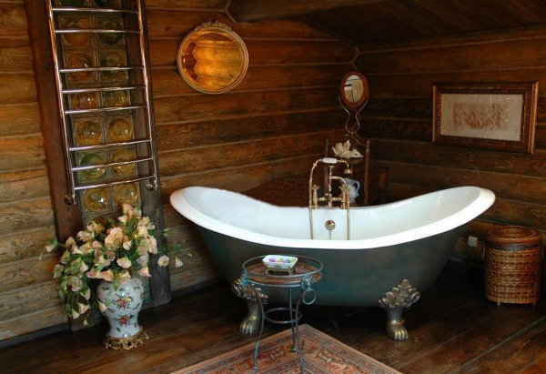Vintage Bathroom Idea 16