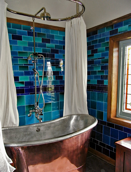 Vintage Bathroom Idea 19