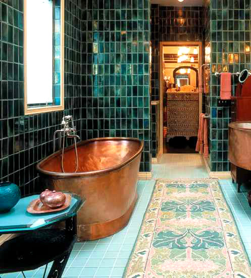 Vintage Bathroom Idea 5