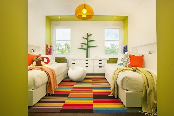 Bright Carpet in the Kids Room 4