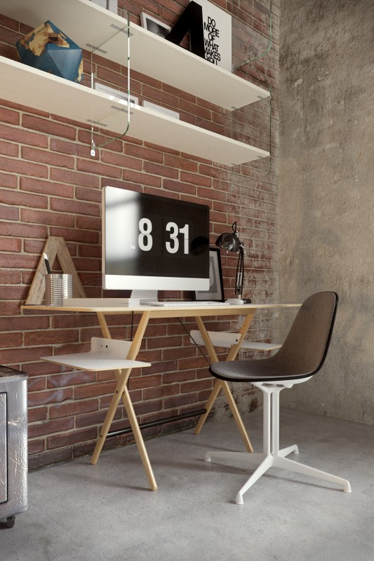 Design Idea For The Workplace At Home 14