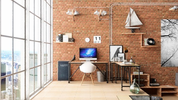 Design Idea For The Workplace At Home 22