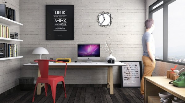 Design Idea For The Workplace At Home 28