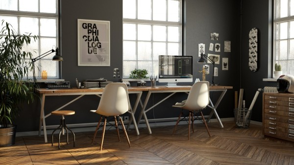 Design Idea For The Workplace At Home 33