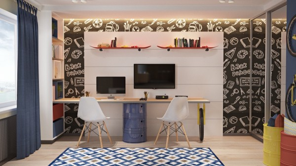 Design Idea For The Workplace At Home 5
